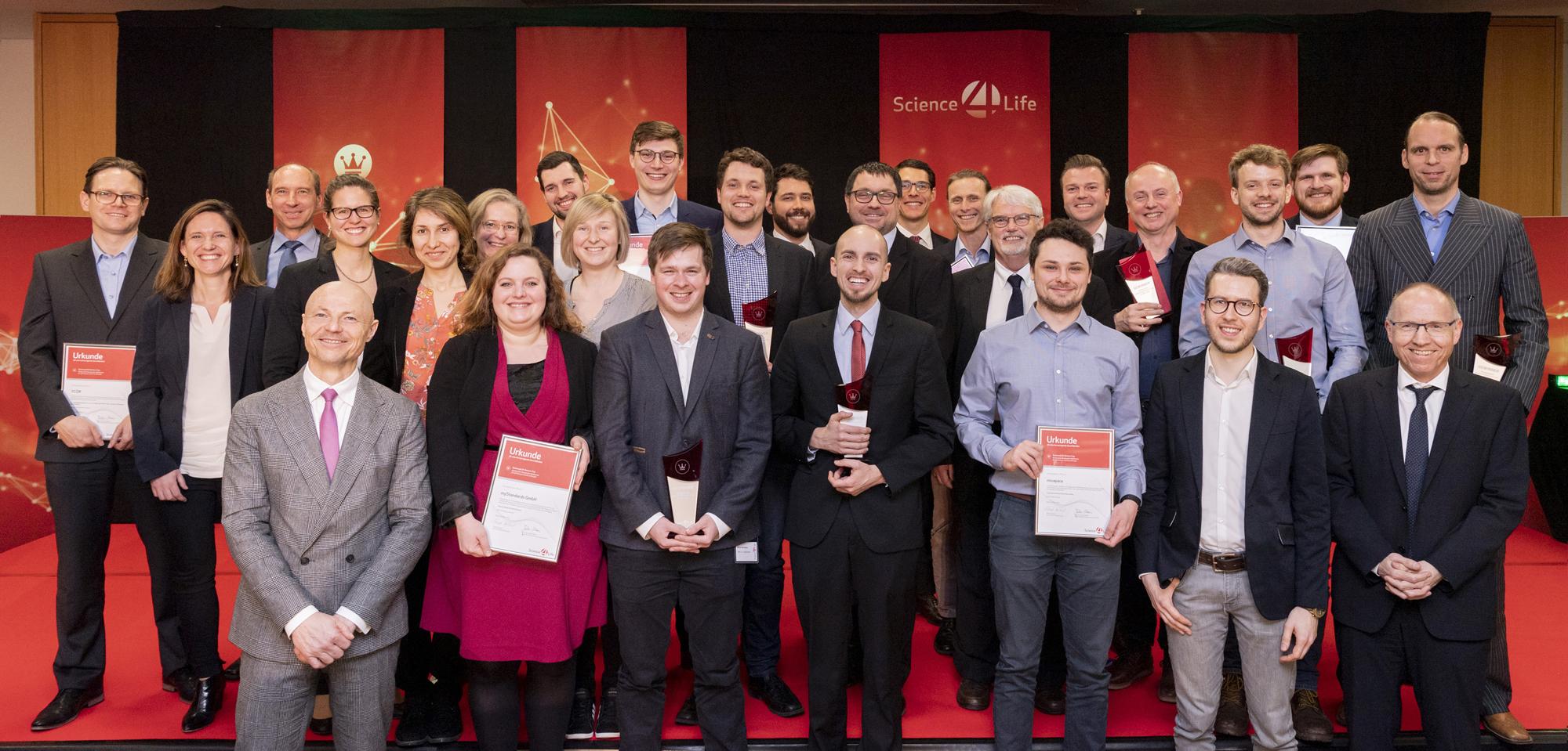 Science4Life Venture Cup, Science4Life Energy Award, Konzeptprämierung, Hessische Landesvertretung, Gewinnerteams Science4Life Konzeptphase