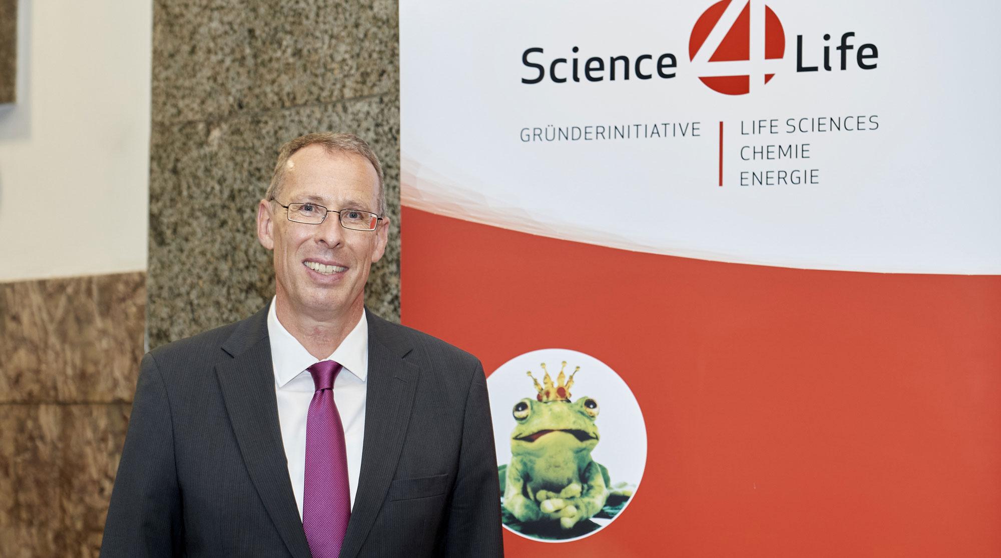 Dr. Lutz Müller, Projektleiter Science4Life, Businessplan Wettbewerb Life Sciences, Chemie, Energie